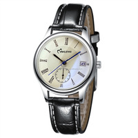 China watch factory silver OEM quartz watch