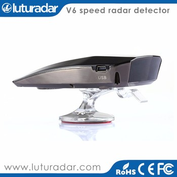 Russian/English switch voice warning car radar detector anti police Strelka-CT