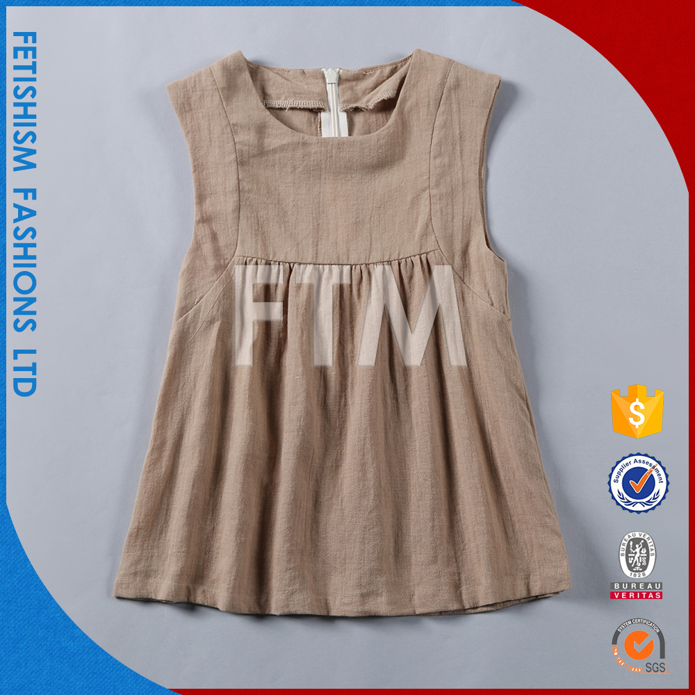 2016 Hot Sale Woven kids girls dresses india