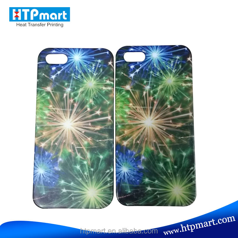 Hot Selling 3D Heat Transfer Sublimation Phone Case for iPhone 5/5S of Fast Delivery