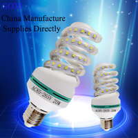 E27 SMD LED energy saving light bulb AC220v/85-265v LED spiral corn light lamp