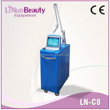 Q switch laser for All colors pigment removal Wrinkle tattoo removal skin whiteing machine C8
