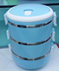1-3 Layers Stainless Steel Food Storage Container School Student Children Portable Insulated Thermos Bento Lunch Boxs