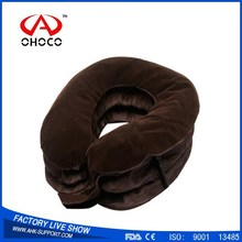 Customers'satisfication of neck massage pillow and inflatable air pump neck tractor