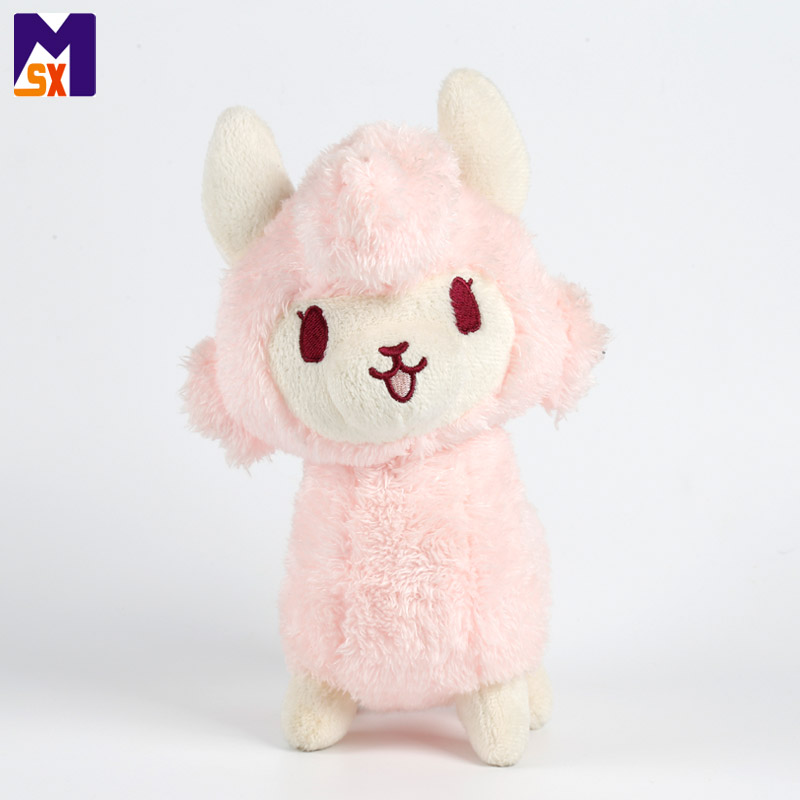 China stuffed animal supplies pink stuffed sheep toy sheep plush