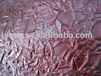 artificial leather , VACCUM EMBOSSED LEATHER(sofa, bag, case, ladies bag)