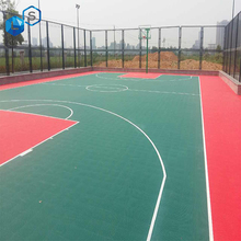 PP Interlocking Sports Flooring/Removable Flooring Basketball Court