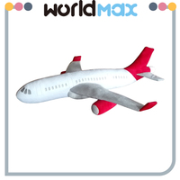 New Arrival Soft Cartoon Plush Airplane Toy For Baby