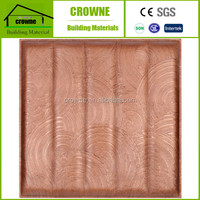 Waterproof Effect Leather Wall Panel Luxury Modern Home Interior Design 3D Leather Wall Panel