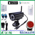 professional wireless security home alarm system with Night Vision Camera