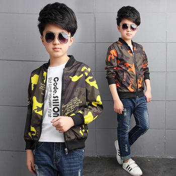 B40699A Wholesale kids coat boys casual jackets