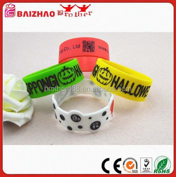 Bulk Price Sport Silicone Magnetic Bracelets , Silicone Rubber Wristband