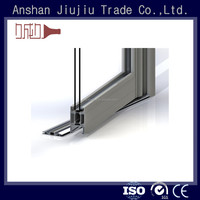 Many shapes and sizes 6061 anodized aluminum door jamb