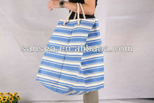 fashion tote woven bag