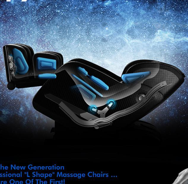 Fashional healthcare model build-in heating intelligent massage chair salon pro korea sex massage bed