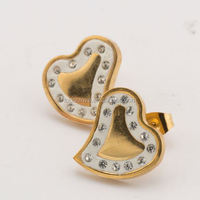 fashion earrings in stock stud diamond earrings screw back