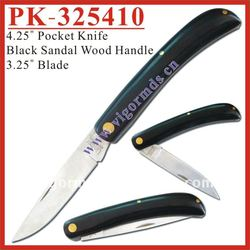 (PK-325410) Black Sandal Knives and Pocket Knife / Folding Knife