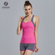 High Quality Girl Sports Clothes Breathable Shockproof Yoga Tank Top And Shorts Set