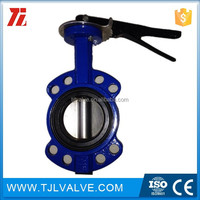 wafer type di/ci/ss fire protection butterfly valve ansi/jis/din fire use
