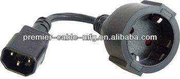 netzkabel kaltgerate stecker schuko buchse kabel fur usv. Black Bedroom Furniture Sets. Home Design Ideas