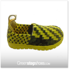 Handmake Elastic Woven Sport Shoes Children