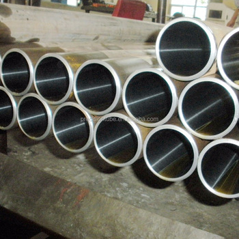 Honed steel tubing for hydraulic cylinder