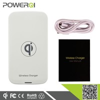 Portable wireless station charger for Samsung latest S6,qi charger for most smartphone