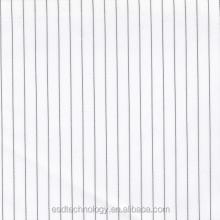 5mm Stripe Polyester Antistatic Fabric for Medical Industry