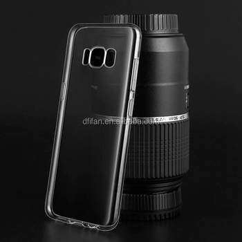 DFIFAN new arrival for samsung galaxy s8 transparent phone case tpu protective plastic shell for samsung Galaxy s8