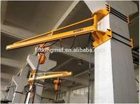 Best selling high quality liftking brand rotational wall crane for sale