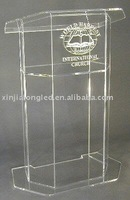 Clear Plexi Church Pulpit Perspex Podium Lectern Acrylic Church Pulpit Wholesale