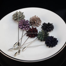 Korea New Style Fashion Lapel Flower Pins For Coat,Garment Accessories For Men