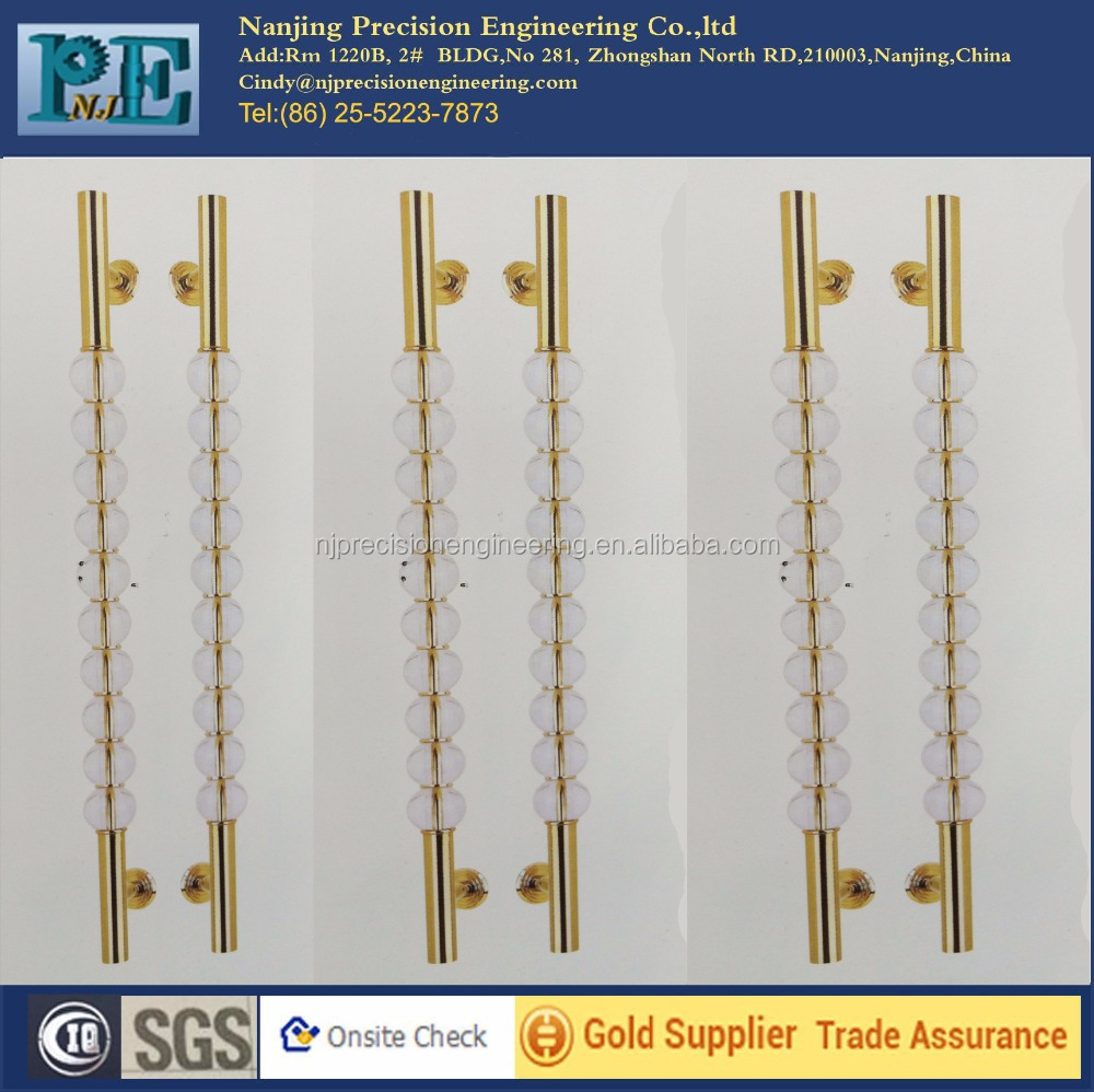 x-748 chinese crystal craft glass door <strong>handles</strong>