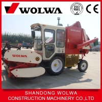 Hot sale low cost small soybean harvester W4D-1 from china Wolwa