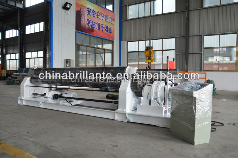 JIANGSU NANTONG: BRILLANTE <strong>w11</strong> mechanical rolling machine , 3 roller plate roll bending machine , sheet metal roll for sale