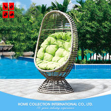 Chinese Round Rattan Bird Nest Balcony Adult Cheap Outdoor Wicker Cocoon chair