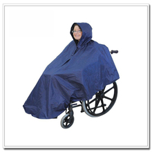 2017 Hot Selling Disabled Wheelchair Poncho Raincoat For Handicapped People Wheelchair Raincoat With Low MOQ