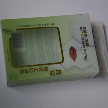 Clear soft crease custom printed folding plastic PET retail packaging box