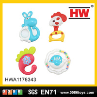 Hot Selling Plastic Cartoon Tambourine Baby