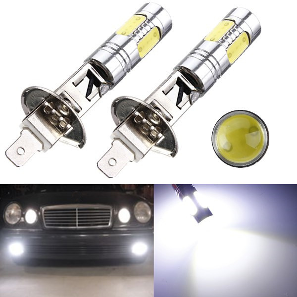 Big Promotion High Power H1 7.5W LED Car Vehicle Auto DRL COB Fog Running Headlight Head Lights Lamp Bulb DC12V White