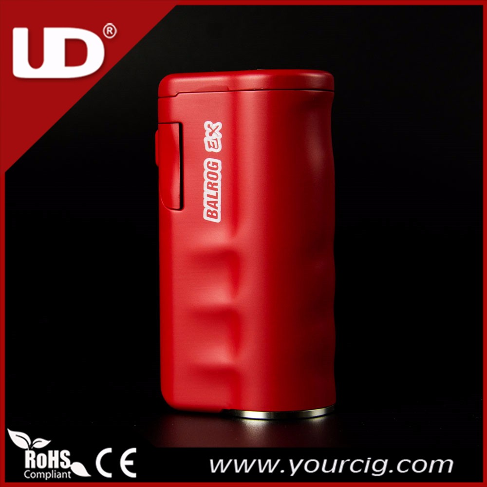 UD 75W BALROG EX vape mod 510 TC box mod available with 18650 or 26650 battery