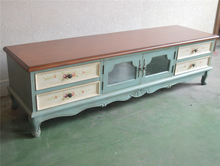 Vintage Industrial Antique chinese style TV cabinet