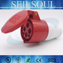Chinese suppliers 3 pin industrial explosion-proof plug & socket outlet electrical plug socket