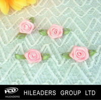 RBH068 Polyester Satin Ribbon Rose