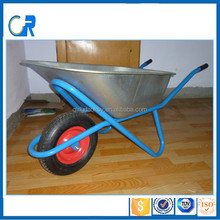 Made in China Handing Tools Wheelbarrow For Europe Market Galvanized Barrow WB5009M