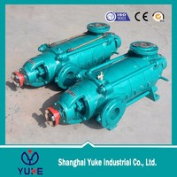 Horizontal multi-stage electric floating high head drinking water booster pumps drawing