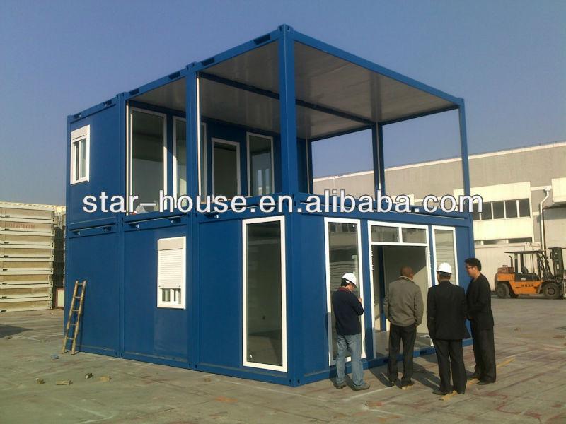 Prefabbricata casa container casa per hotel mining campeggio ufficio scuola appartamento case - Casa container prezzo ...