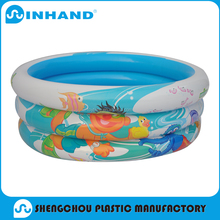 2016 pvc inflatable water pool,3-ring Round Large Inflatable Pool,Inflatable Swimming Pool