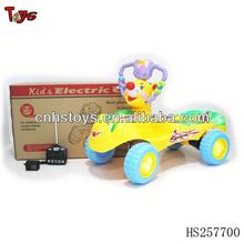 4 channels R/C musical baby car