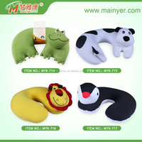 Stuffed Animal Pillows,U-shaped Neck Pillows, Children Headrest Cute Cushions